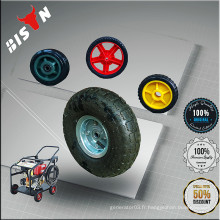 BISON China Taizhou Generator Pièces de rechange 8inch 10inch Plastic Air-inflated wheel for Sale