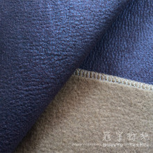 Artificial Polyester Leather Fabric for Decoration