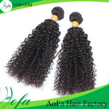 Cabelo humano de alta qualidade do Virgin Hair100% não processado de Remy