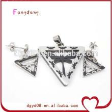 Nuevo estilo de moda joyas de acero inoxidable