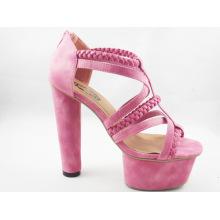 2016 nouvelles sandales de morceau de conception de dames (HCY03-109)