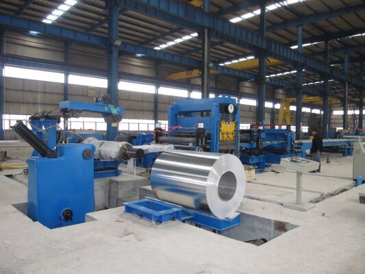 CNC Steel Coil Cut To Length Line