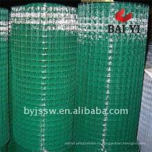 Покрынная PVC сваренная ячеистая сеть(профессиональное изготовление)