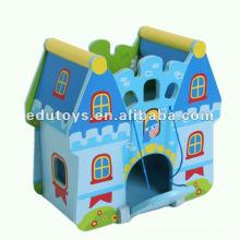 Wooden Educational Castle Spielzeug