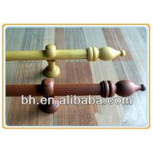 28MM Круглый обработанный деревянный занавес для украшения окон