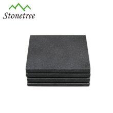 Posavasos de mármol / granito con forma de piedra