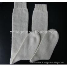 meias de malha de caxemira de alta qualidade de alta qualidade