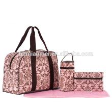Mais recente saco de fraldas do bebê adulto popular nova moda pacote De Fitness 4 pcs set fralda saco de bebê para a mudança da fralda