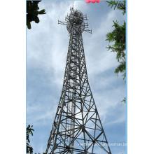 Microondas y telecomunicaciones Torre de acero
