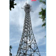 Микроволновая и телекоммуникационная стальная башня