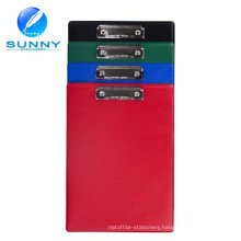2015 High Quality A4 Single Side PVC Waterproof Clip Board