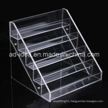 Five Tiers Clear Acrylic Rack Stand