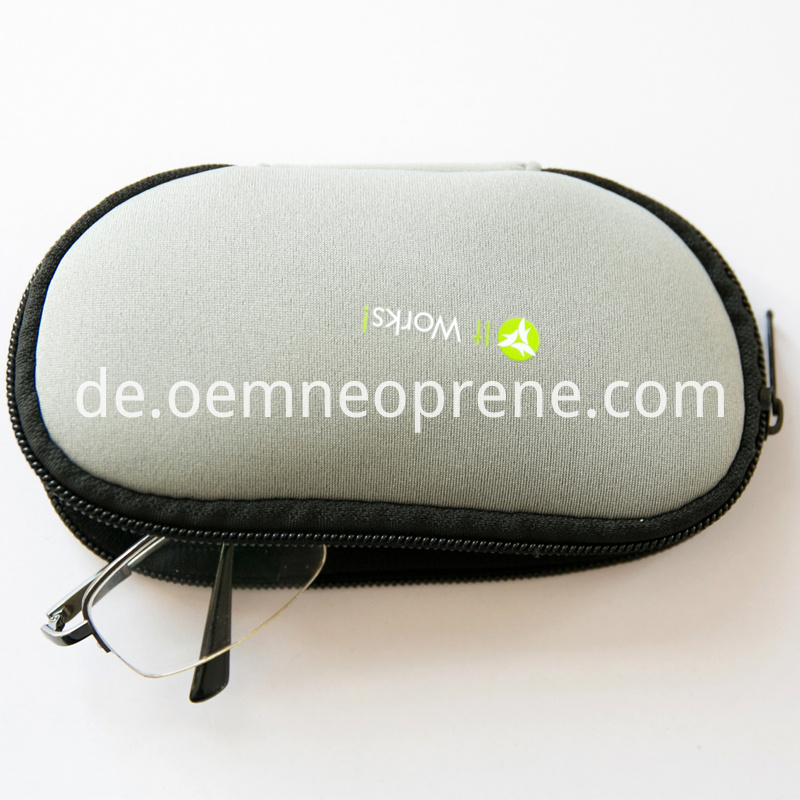 grey glasses case