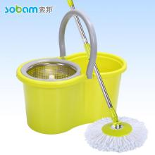 Magic Microfiber Spin Free Trocken Mop Eimer