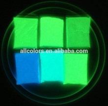 Awesome Photoluminescent powder glow in dark pigment