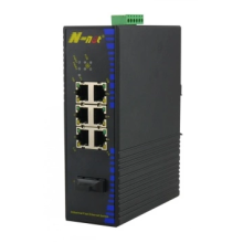 10 / 100M Multi-Port-PoE-Ethernet-Switch für den industriellen Einsatz