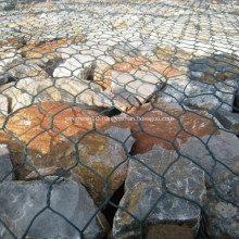 Vinyl Coated Hexagonal Wire Gabion Box