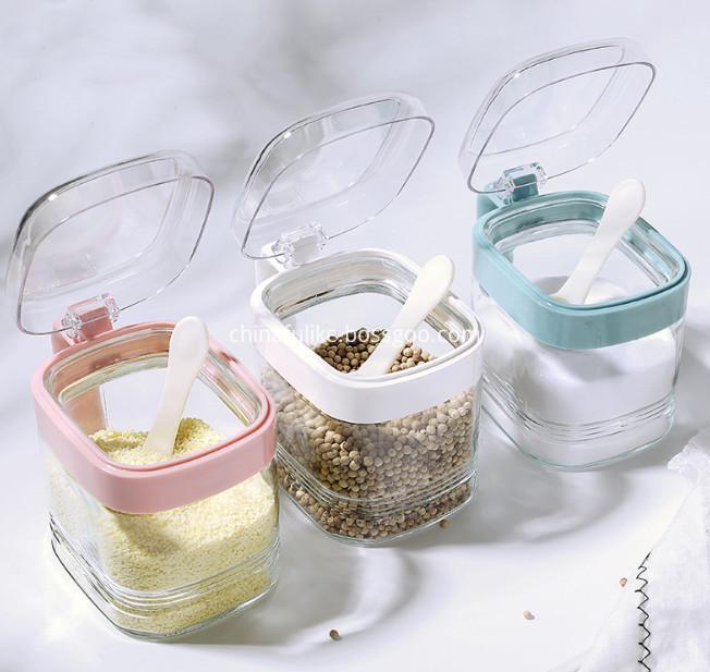 Transparent Condiment Container