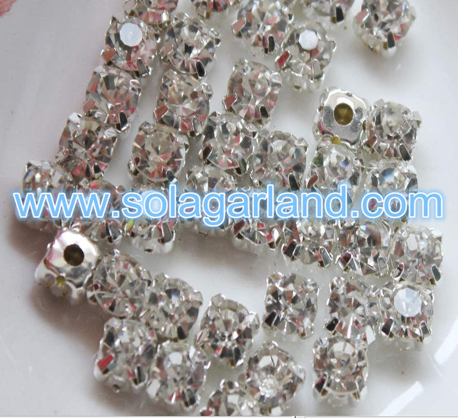 Crystal Rhinestone Beads Charms