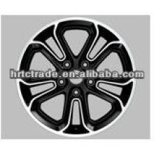 Belle roue en alliage réplique noire pour bbs rs de honda
