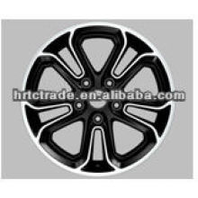 beautiful black replica alloy wheel for bbs rs of honda