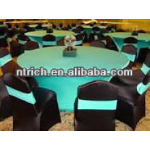 Fashion spandex/lycra round table cover,table cloth,table linen