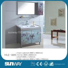 Cabinet en acier inoxydable miroir Vanity Wall Hung avec une bonne qualité