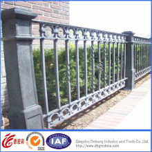 Vintage High Quality Wrought Iron Fence