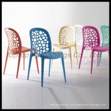Apilamiento silla moderna de plástico de restaurante de comedor (SP-UC316)