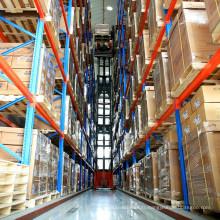 Système de stockage très étroit d'allée / support de VNA pour le stockage résistant