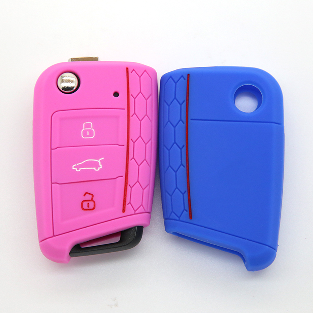 VW silicone car key cover