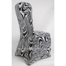 cubierta de la silla de cebra, cubierta de la silla animal, CTS833, cabe todas sillas, boda, banquete, cubierta de la silla de hotel, marco y tabla de paño
