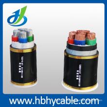 Conductor de cobre 12 / 20kv XLPE con aislamiento de cable