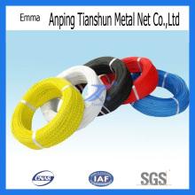 Alambre de hierro recubierto de PVC (TS-E90)