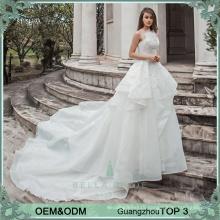 Simple elegant wedding dresses China manufacturer wholesale price wedding dress bridal gown ruffle bride dress