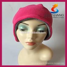 Nuevos productos calientes para los sombreros 2015 del invierno y el sombrero polar del paño grueso y suave