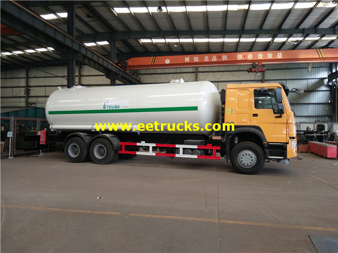 25000L Propane Delivery Tank Vehicles