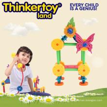 Bricolage casa edifício brinquedo para meninas