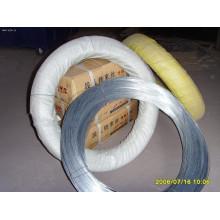Alambres de metal galvanizado sumergidos en caliente o eléctricos