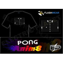 [Stunningly]Wholesale fashion hot sale el T-shirt A100,el t-shirt,led t-shirt