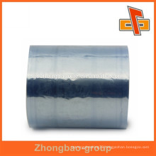 Safety food grade package wrap pvc plastic film with blue/super high clear color