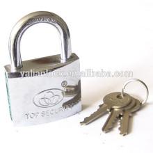 Cilindro de latão cromado padlock