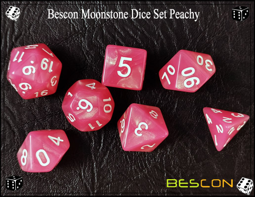 Peachy Dice Set-3