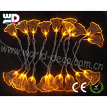 Decorative LED Light String with acrylic bell