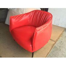 Wachsartige Leder Stuhl, Europa, Leder Sofa Sessel (Y035)