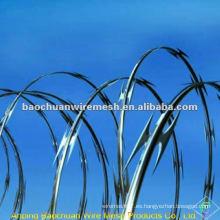 CBT-65 afilado de alambre de púas en cuerda