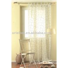 Curtain(voile curtain,window curtain,polyester curtain)