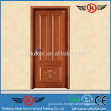 JK-W9091 2015 China Latest Design Wooden Single Main Door Design