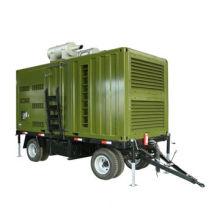 Mobile generator,1200kw/1500kva Cummins portable diesel generators(KTA50-G8)