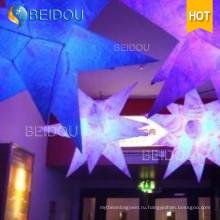 Светодиодные события этап Свадьба украшение Медуза Освещенная надувная звезда